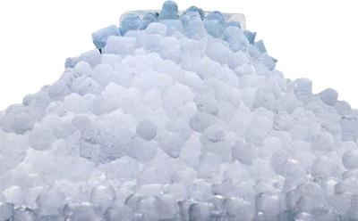 hielo en nuggets